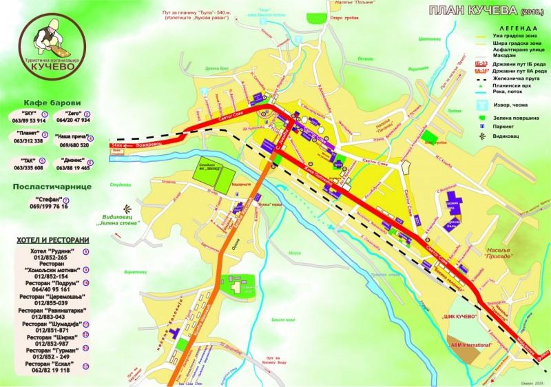 Plan Kuceva 2018